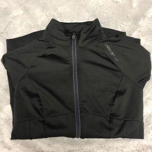 zip-up athletic jacket